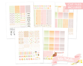 Pastel Sewing Printable Planner Weekly kit Stickers fits E