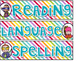 Pastel Sterlite Drawer Labels: Choice of Pastel Stripe and