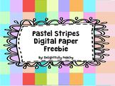 Pastel Stripes Digital Paper Freebie!!