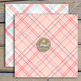 Pastel Valentine Plaid Digital Papers