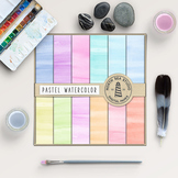 Pastel Watercolor Digital Paper