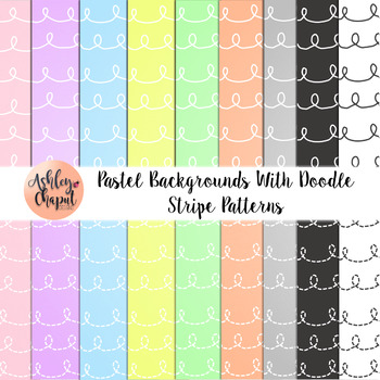 Pastel and Ombre Backgrounds
