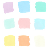 Pastel opaque backgrounds for text