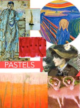 Pastels ~ Art History ~  FREE POSTER ~ Major Artists ~ Pastel Art