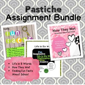 Pastiche Assignment Bundle