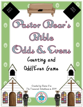 Odd & Even Numbers 1-20 Game with Bibles