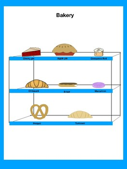 Pastry Prepositional Phrases