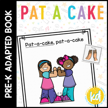 Pat A Cake: Adapted Book for Early Childhood Special Education