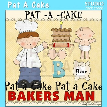 Pat A Cake Nursery Rhyme Clip Art C Seslar