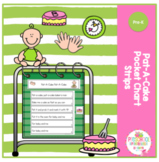 Pat-A-Cake Pocket Chart Strips
