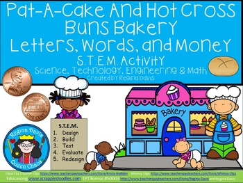 Pat-A-Cake and Hot Cross Buns STEM Science, Technology, Engineering & Math