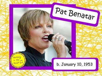 Pat Benatar: Musician in the Spotlight