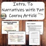 Pat Conroy and The Narrative Genre