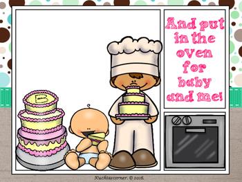 Pat-a-Cake Baker's Man Comic Strip Nursery Rhyme Story Telling - PDF Ed.