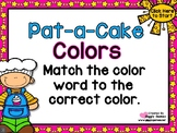 Pat-a-Cake Colors Match PowerPoint Interactive Game