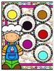 Pat-a-Cake Color Match File Folder Game