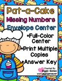 Pat-a-Cake Missing Numbers Envelope Center