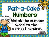 Pat-a-Cake Numbers Match PowerPoint Interactive Game