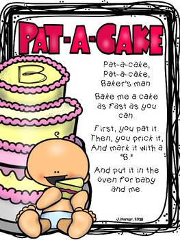 Pat-a-Cake Nursery Rhyme Investigation