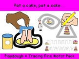 Pat a cake unique PLAY DOUGH & TRACING prek preschool k12 SPED OT