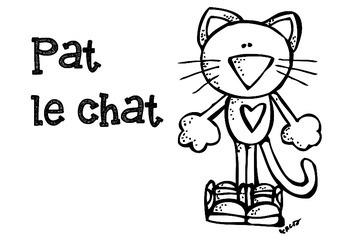 Pat le chat- phrases mélangées