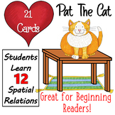 Spatial Concepts Pat the Cat: {Boom Cards} without audio