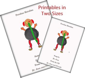 Patalina Matalina eBook (iPad), Printables, Power Point - Dr. Jean