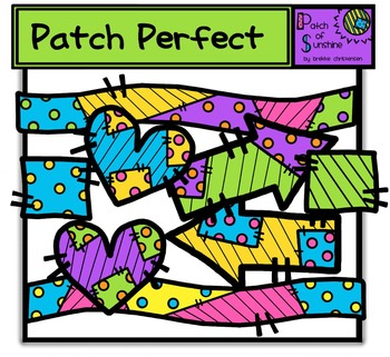 Patches Clip Art *Patch of Sunshine*