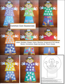 Patches the Standard Scarecrow Craft and Activity Packet