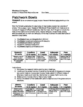 Patchwork Bowls