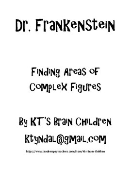 Patchwork Frankenstein Areas of Complex Figures