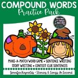 Compound Word Patchwork Pumpkin Practice Pack