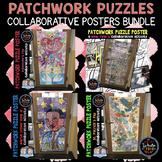 Patchwork Puzzle Collaborative Posters BUNDLE