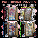 Patchwork Puzzle Collaborative Posters BUNDLE