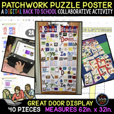 Patchwork Puzzle Poster: A Back to School DIGITAL Collabor