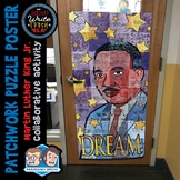 Patchwork Puzzle Poster: A Martin Luther King Day Collabor