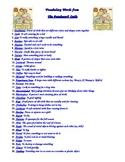 Patchwork Quilt Vocabulary