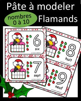 Pâte à modeler - Flamands de Noel by Les Créations JOOLOO | TpT