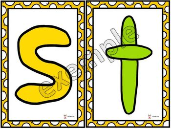 Pâte à modeler, lettres minuscules