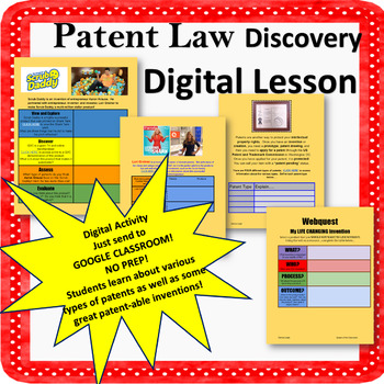 Patent Law Digital Activity