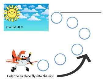 Path Behavior Chart: Airplane to Sky