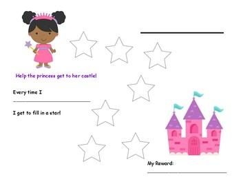 Path Behavior Chart: Princess to Castle