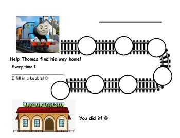 Path Behavior Chart: Train to Train Station