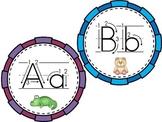 Path of Motion Alphabet Cards