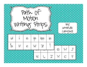 Path of Motion Writing Strips