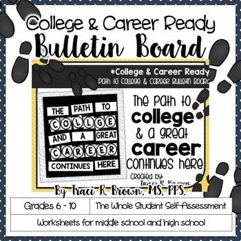 Path to College & Career Ready Bulletin Board