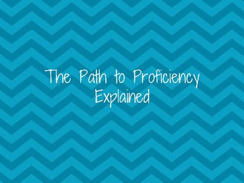 Path to Proficiency Printables - Pencil Chevrons