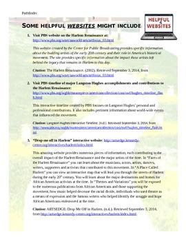 Pathfinder: Langston Hughes and the Harlem Renaissance