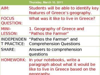 Pathos the Farmer Greece Geography