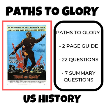 Paths to Glory Video Guide